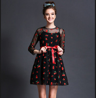 M32833 free shipping high degree new design 100% authentic flower girl dresses 2014