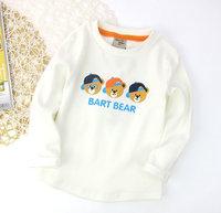 Cartoon Winnie the autumn models of child shirt, boys cotton long-sleeved T-shirt . Free shipping