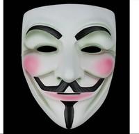 Free Shipping V for Vendetta Halloween Horror Skull Joker Costume Props Collection Cosplay Scream Mask Resin Accessories