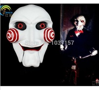 Free Shipping Saw Halloween Horror Skull Joker Costume Props Collection Cosplay Scream Mask Resin Accessories