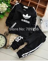 hot sale baby boys/girls Sport suit set kids Pure cotton tracksuit sets children outerwear clothing boys spring/autumn cloth
