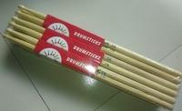 7A Chinese hicktory wood drum stick walnut  drum stick 12 pair A grade