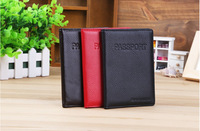 Card Holder Genuine cow leather high quality brand travel passport holder card case passport protective sleeve passport cover