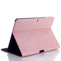 For Samsung galaxy TAB4 T530 stylish crocodile PU PVC case protector stand card holder