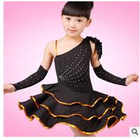 New Childrens Latin Salsa Ballroom Dance Dress Girls Dance Wear Costumes
