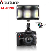 Aputure Amaran AL-H198 CRI 95+ New LED Camera Video Light & photo for Canon Nikon Olympus Camcorder with carrying bag AL H198