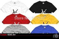 Free shipping short sleeve t-shirt brand t shirt YS printed t-shirt top brand tee letter print tshirt 100% cotton 6 color