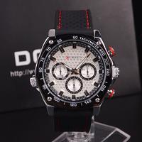 2014CURREN Brand Luxury Men Sports Watches Silicone Men Quartz Military Army Wristwatches,