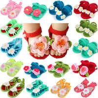 10 pair Unisex Lovely Handmade Knitted wool shoes for kids toddler soft sole handmade Baby sandals for girls/boys crochet shoes