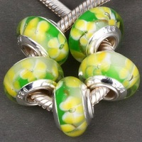 Free fashion   Mixed  Murano  glass beads  fit for  bracelets