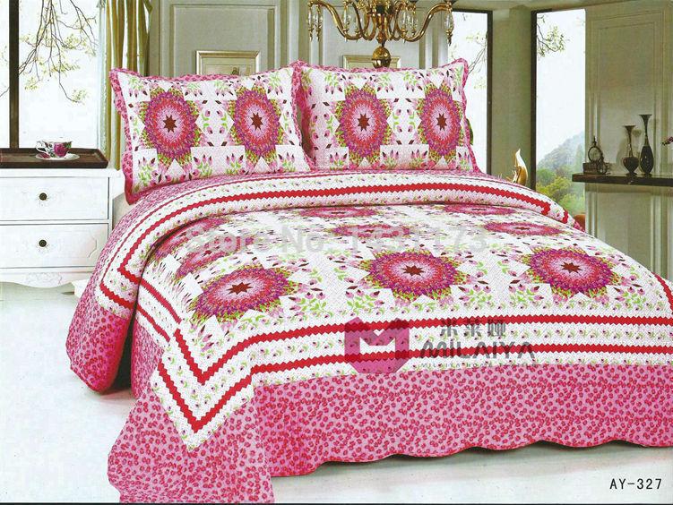 cor múltipla [ ay327 ] 100% de qualidade da cama colcha de algodão verão ar condicionado consolador interior para a seleção(China (Mainland))