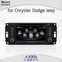 HEPA Radio car for Jeep Wrangler Commander Compass Grand Cherokee Dodge Journey Chrysler Sebring with 1G CPU 3G Host S100