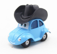 100% original   Rare Pixar Cars diecast  TOY  ---  Flik With Cowboy Hat