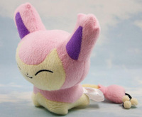 "Pokemon Plush Toys 6"" 15cm Skitty Cute Soft Stuffed Animals Toy Figure Collectible Doll"