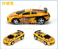 2pcs 4 color Mini-Racer Remote Control Car Coke Can Mini RC Radio Remote Control Micro Racing Car