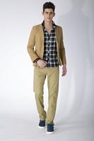 2014 Fashion Fit Mens Casual Pants New Design Business Trousers High Quality Cotton Pants 28 to 36 38 plus size casual pants men