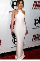 Graceful White Mesh Highlight Floor-length Party Evening Gown  LC6636 vestidos de festa vestido longo