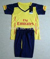 Kids/Boy ALEXIS RAMSEY OZIL Giroud Walcott 14 15 Best Thailand Quality youth child Soccer Jersey Shirt Jersey