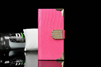 Hot Sell Lizard Stripe Skin Phone Case for iPhone 6 6G Fashion 4.7'' Full Leather Cover for Apple