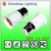 Free Shipping Die neue LED-Lampen Halogenlampe Lampe Adapter B22 auf E27 Sockel Halter