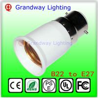 Socket Light Bulb Lamp B22 to E27 Holder Adapter Plug Extender Lampholder Hot New