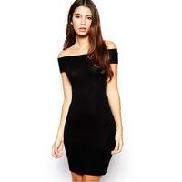 Women Dress Off Shoulder  Party Wear Lady Backless Clubwear Evening Dress S-XL Free&Drop Shipping