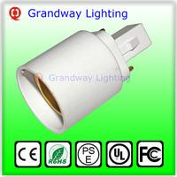 G24 To E27 Socket Base LED Halogen CFL Light Bulb Lamp Adapter Converter Holder  Grandway Lighting