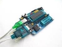 5pcs/lot new 51 MCU mini Development Study board For 8051 89C51 89S51 89s52 module