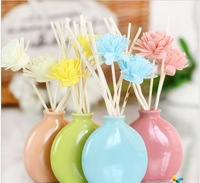 Aromatherapy ceramic vases incense sticks essential oil bottle flowers decoration home decoration free shipping