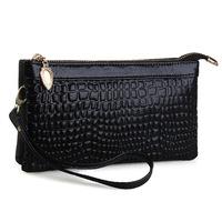 Hot selling! Women Clutch bag Special Offer genuine Leather bags women messenger bag crocodile grain decoration Crossbody Bags