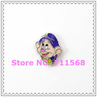Dopey Dwarf Floating Charm The Princess Memory Locket Charms For DIY Floating Locket Accessories