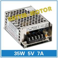 Small volume of 35W 5V switching power supply 86V-264V AC to DC 5V/7A Model MS-35-5