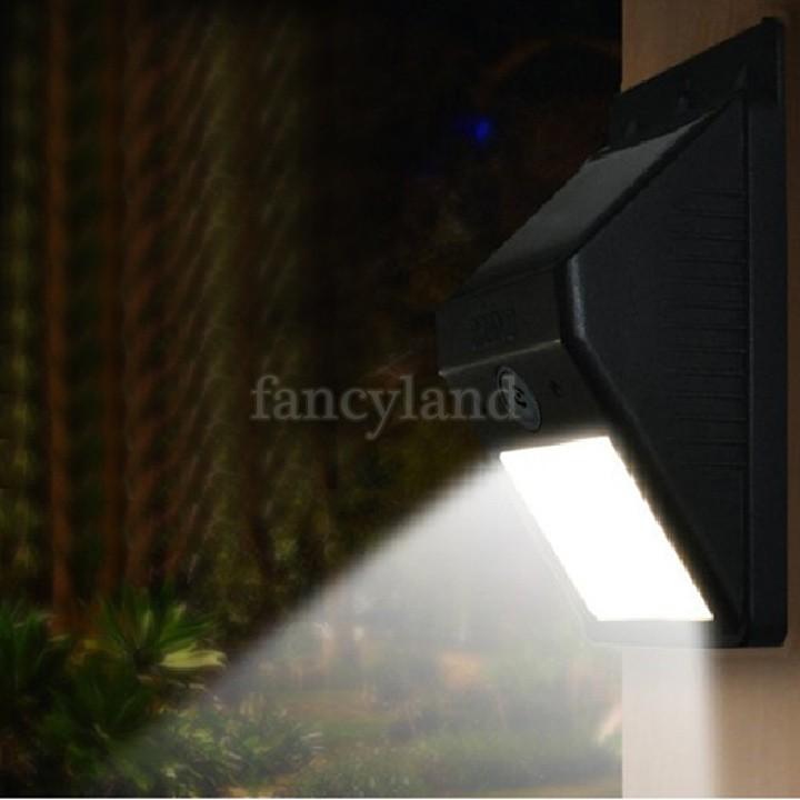 Hot Sale Cold/Warm White Waterproof Solar Power Panel 4 LED Motion Sensor Light Outdoor Garden Wall Lamp SV19 SV008510(China (Mainland))