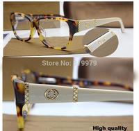 2014 vintage quality brand designer acetate eyeglasses women fashion eyewear  myopia glasses GG3559 original packnage