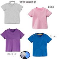 2014 children's t shirt short sleeve sport t-shirt boys girls shampooers gray sports clothing boys clothes 10pcs/lot summer wear