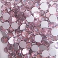 SS6(1.9mm) 1440pcs Glitter 3d Nail Art Rhinestones Glass Decorations Non Hot Fix Flatback DIY Nail Tools Crystal Lt.amethyst 015