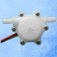 24V USN-HS06PA 6mm Plug 0.15-1.5L/min Small Hall water Flow Sensor POM material