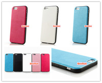 Colorful PC PU Leather Case Shock Proof Cover Protective Shockproof For Apple IPhone 6 4.7'' 4.7 Inch IPhone6 Pouch Protector