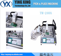 Good sale 2014 Newest Soldar System Machine Small Automatic LED Pick and Place TM240A SMT Desktop Pick and Place Machine