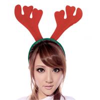 2014 NEW Santa Reindeer Antler Hat Deer Horn Christmas Cap Christmas Hat Free Shipping New Gift Xmas