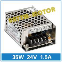 Small volume of 35W 24V switching power supply 86V-264V AC to DC 24V/1.5A Model MS-35-24
