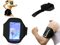New Come Useful Waterproof  Sport Armband Case for Samsung Galaxy S3 I9300/ iPhone5 - Black