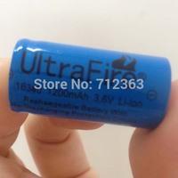 Free Sweden post,50 PCS Brand NEW Ultrafire 16340  1200mah 3.7V Rechargeable Battery for LED torch/flashlight/Digital Camera