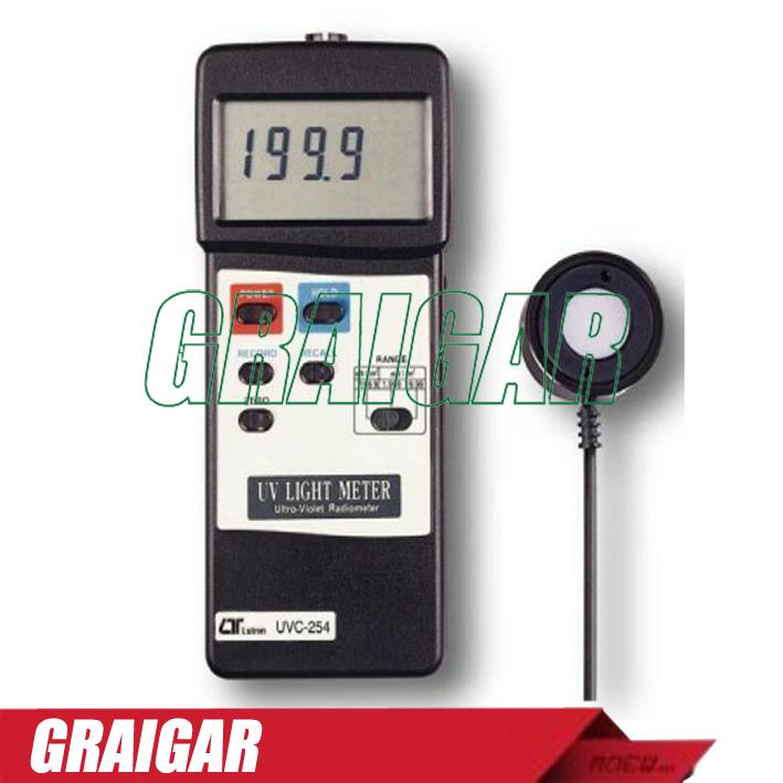 Free Shipping LUTRON UVC - 254 ultraviolet spectrophotometer UVC254 ultraviolet irradiation meter uv intensity meter(China (Mainland))
