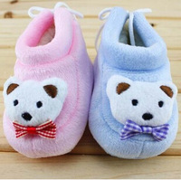 2014 new autumn and winter days velvet baby shoes / baby cartoon cotton-padded shoes