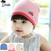 Beanies (5PC/LOT) New Arrival Concise Style Fashion mini car Decoration caps Premium 3color Cotton infant hats MZ2111