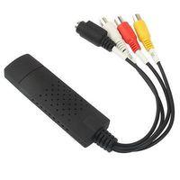 Easycap Usb 2.0 Video TV DVD VHS Audio Capture Adapter for vista win7 win 8 25pcs/lot