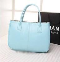 Free shipping new 2014 women shoulder bags big PU leather bag fashion European and American casual women handbag