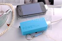 Wholesale 50sets portable battery power packs,18650 battery bank,battery power bank key chain,power bank 5600mah