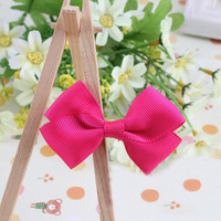 fashion decorative bowknot hairgrips girl flower hairgrip for boutique